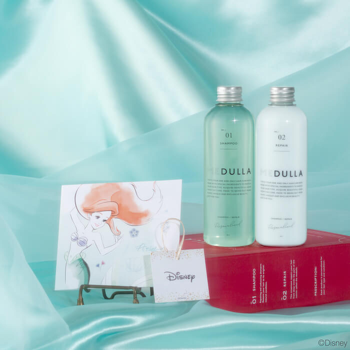 アリエル MEDULLA Disney SPECIAL HAIR CARE BOX