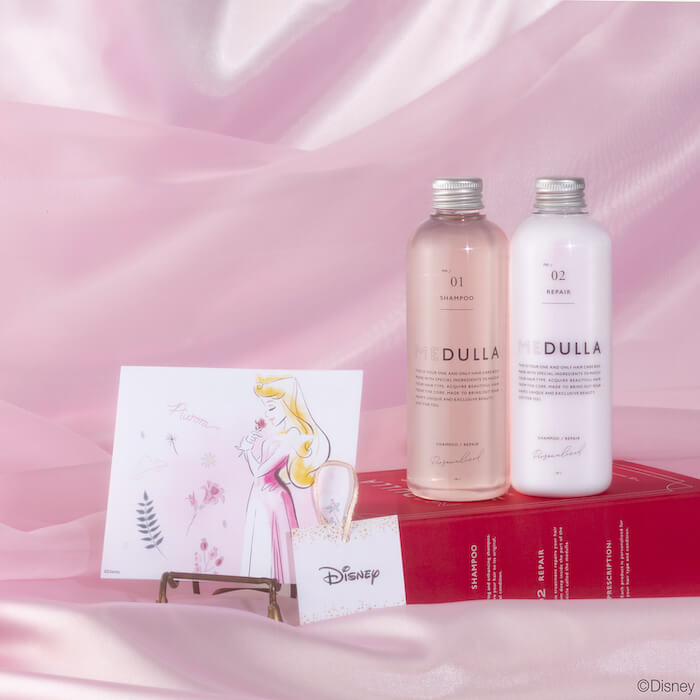 オーロラ姫 MEDULLA Disney SPECIAL HAIR CARE BOX