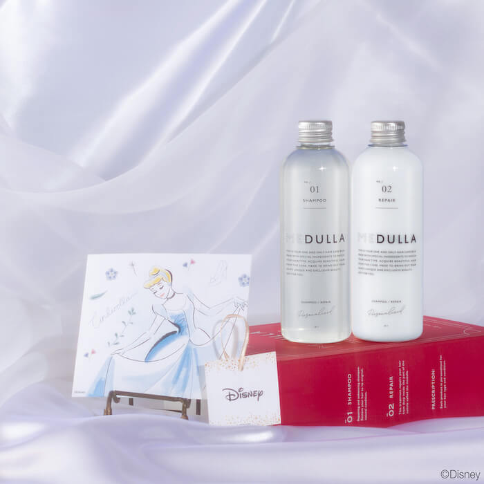 シンデレラ MEDULLA Disney SPECIAL HAIR CARE BOX