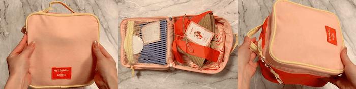 ランセルコラボMy Little Boxバニティバッグ