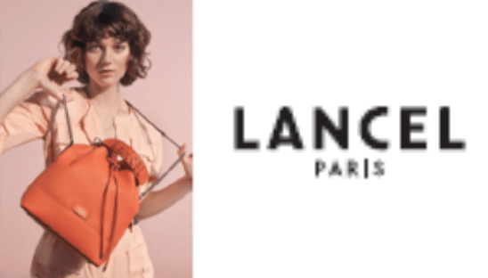 パリジェンヌの御用達ブランド「LANCEL」ロゴ&ブランド画像
