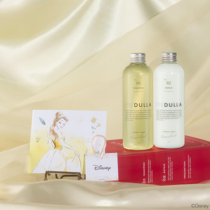 ベル MEDULLA Disney SPECIAL HAIR CARE BOX