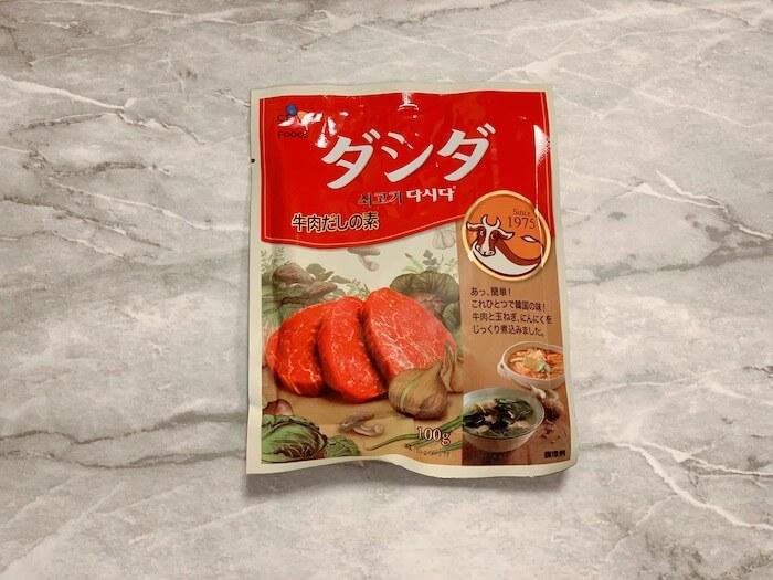 『C・J 牛肉ダシダ 100g』