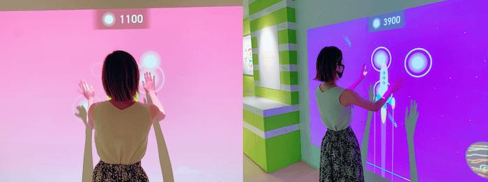 ファンケル銀座スクエア元気ステーション『ハヤミル〜現れる光にすばやく反応〜』