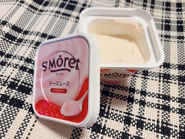 『サンモレ チーズムース ストロベリー』