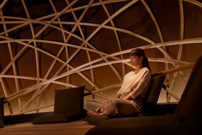メディテーションスタジオ『Medicha(メディーチャ)』竹と木のドーム