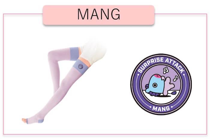 「スリムウォーク 美脚スーパーロング」BT21 MANG(J-Hope)