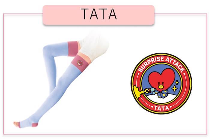 「スリムウォーク 美脚スーパーロング」BT21 TATA(V)