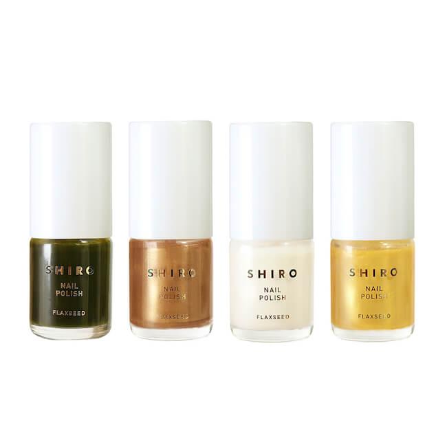SHIRO限定4色『亜麻ネイル』