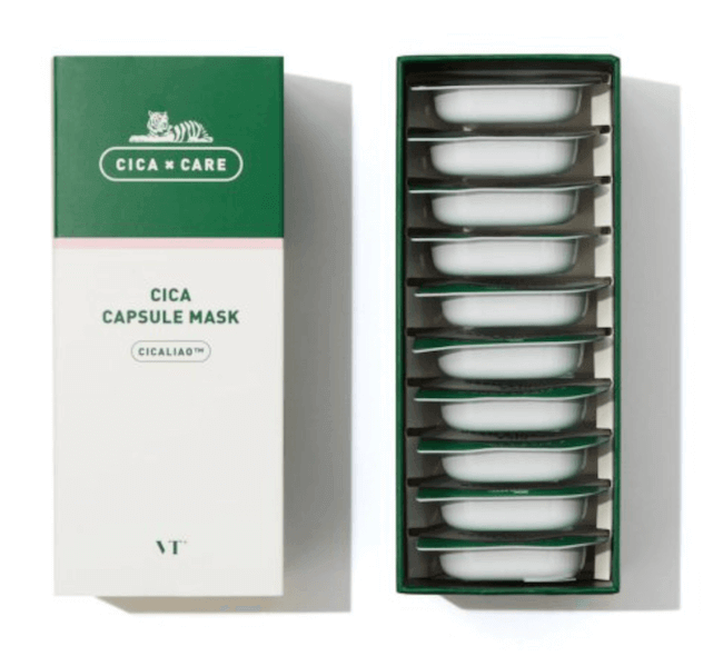 VT cosmetics『CICAカプセルマスク 10パック入り』