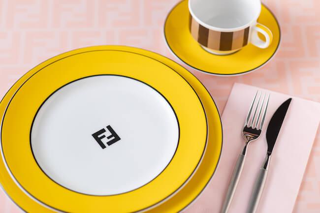 『フェンディ カフェ バイ アニヴェルセル(FENDI CAFFE by ANNIVERSAIRE)』カトラリー