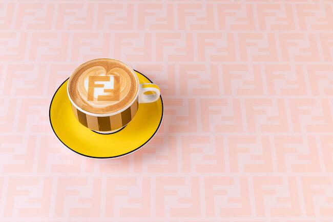 FENDI CAFFEカプチーノ