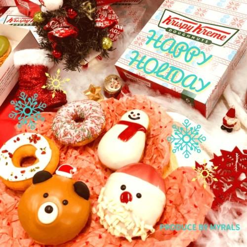 【期間限定】クリスマスベアが新登場!クリスピー・クリーム・ドーナツと共に楽しいホリデーシーズンを!