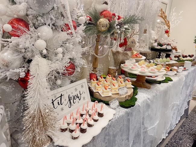 クリスマス スイーツビュッフェ『眠れる森のスイーツガーデン~Once Upon A Christmas~ 』