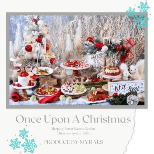 クリスマススイーツビュッフェ 眠れる森のスイーツガーデンの試食会へ行ってきました!
