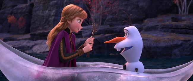 『アナと雪の女王2』作中画像