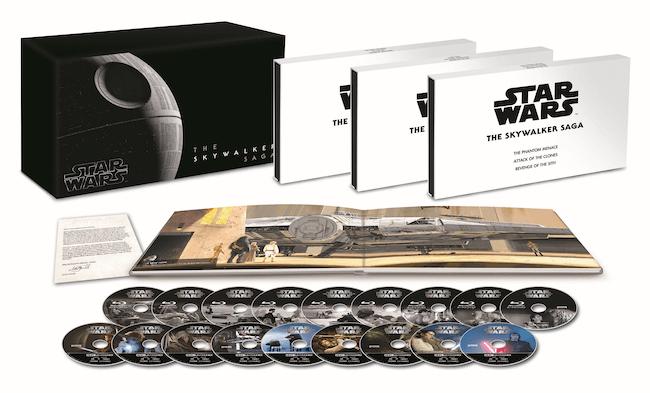 『スター・ウォーズ スカイウォーカー・サーガ 4K UHD コンプリートBOX(数量限定)』
