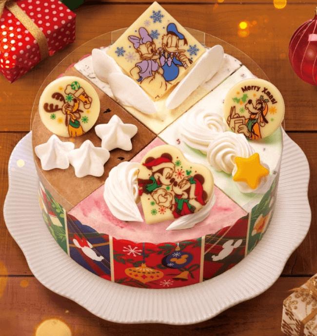サーティワン アイスクリーム『ミッキー&フレンズ クリスマスパレット(9個入)』
