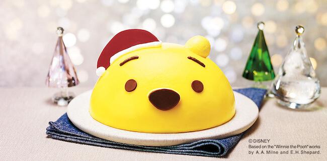 セブンイレブン『クリスマスデコレーションケーキ くまのプーさん』