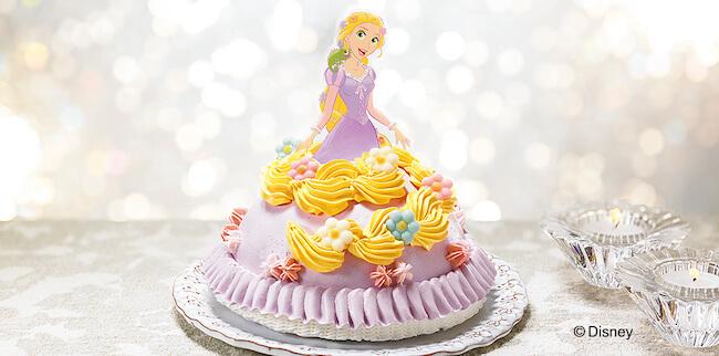 セブンイレブン『クリスマスデコレーションケーキ ラプンツェル』