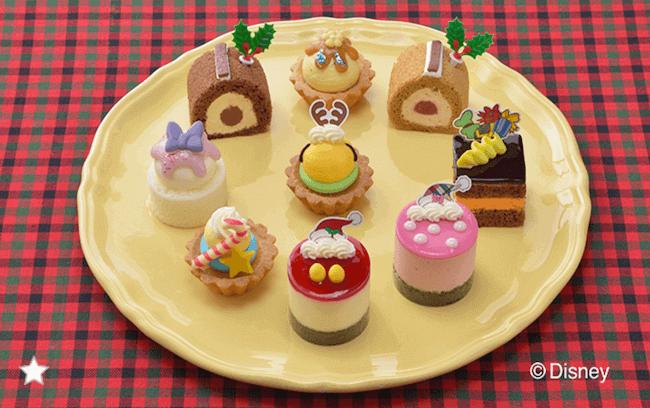銀座コージーコーナー『-ディズニー-クリスマス・コレクション(9個入)[プチケーキ]』