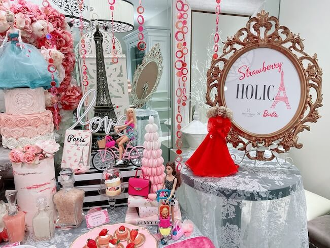 『ストロベリーホリック~Barbie in Paris~』ビュッフェ