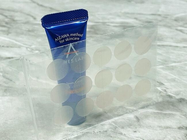アクネスラボ『薬用スポッツクリーム 専用パッチ付き』