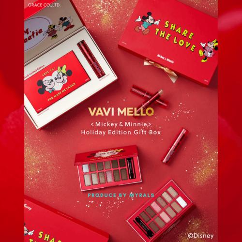 「VAVI MELLO」からミッキー・ミニーデザインの限定ホリデーコレクションが登場!