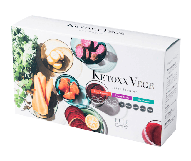 「ELLE café KETOXX VEGE Juice Program」