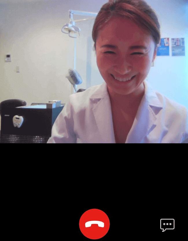 山内先生歯医者オンライン診療イメージ画像
