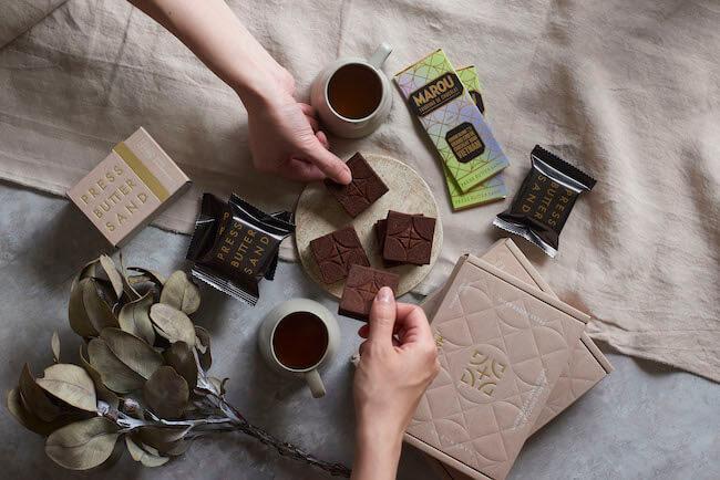 バターサンド専門店「PRESS BUTTER SAND」『バターサンド MAROUチョコレート』