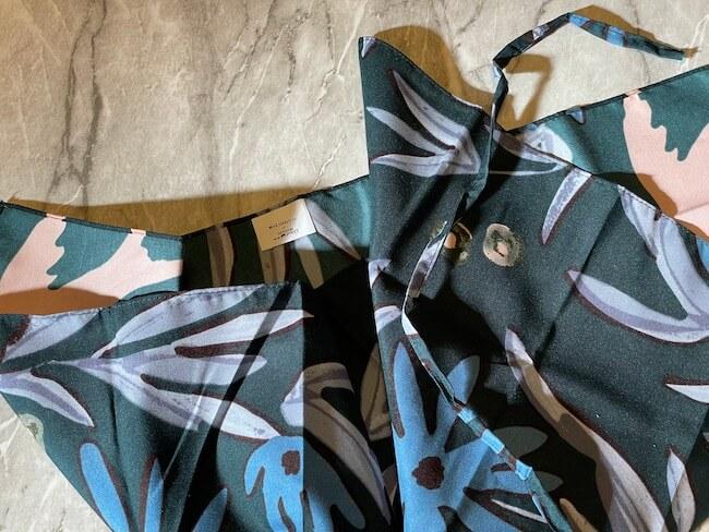 「シーズン ペーパー」とマイリトルボックス2021年1月コラボのスカーフ