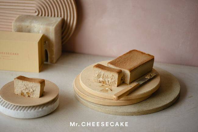 『Mr.CHEESECAKE Camel praliné citron』