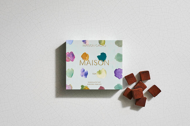アロマ生チョコレートブランド「MAISON CACAO」『EMOTIONAL』