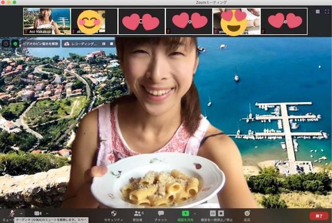 イタリア家庭料理研究家 Aoi Auroraさん