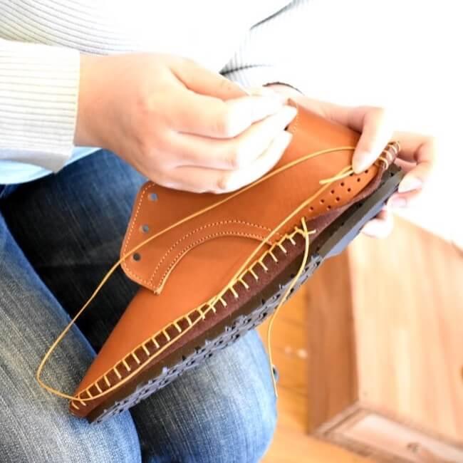 関口善大靴工房『お家で靴作りキット』