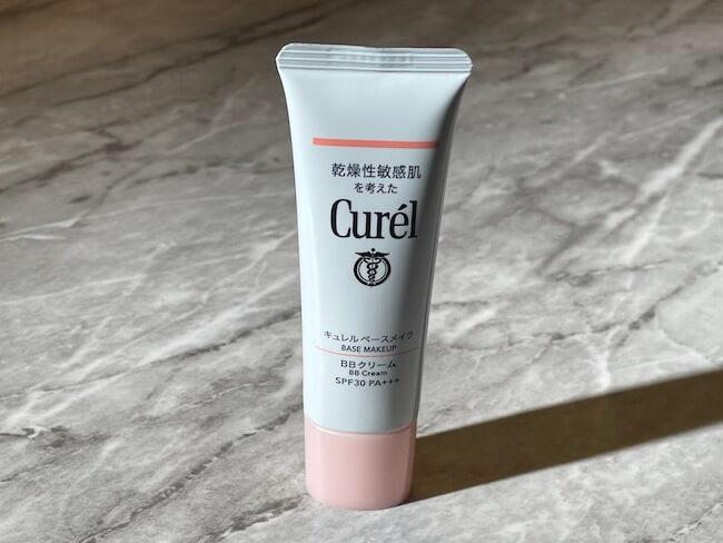 荒れがちな肌も美しく仕上げたい乾燥性敏感肌に!『キュレル ベースメイク BBクリーム』