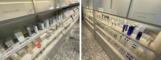 SKINCARE LOUNGE BY ORBIS 『SHOP』