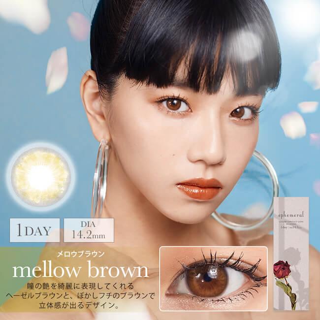 mellow brown(メロウブラウン)