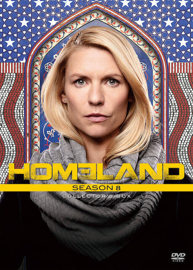 『HOMELANDホームランド ファイナル・シーズン』BOX_ジャケット写真