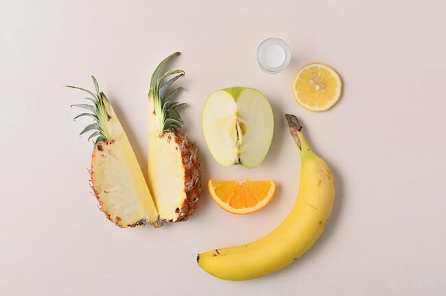 『すべらないバナナ』に入っているフルーツ量
