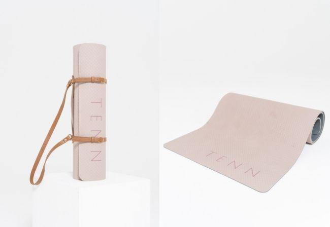『yoga mat + strap』TENN