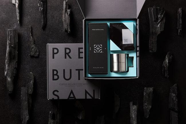 バターサンド専門店PRESS BUTTER SAND『父の日ギフトコレクション「Mr.EDITION」COFFEE SET&BUTTER SAND』