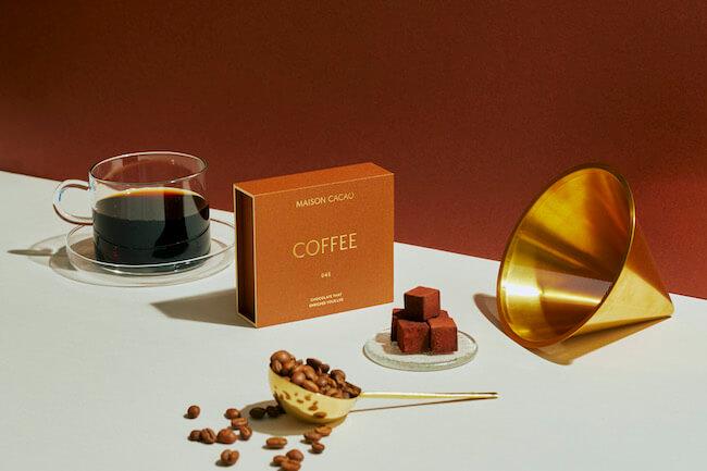 アロマ生チョコレート専門店MAISON CACAO『コロンビアコーヒーセット』