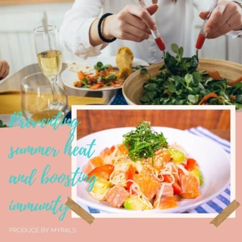 管理栄養士に聞く!夏バテや免疫機能の低下を防ぐ、オススメ食材や栄養素とは〜素麺レシピ〜