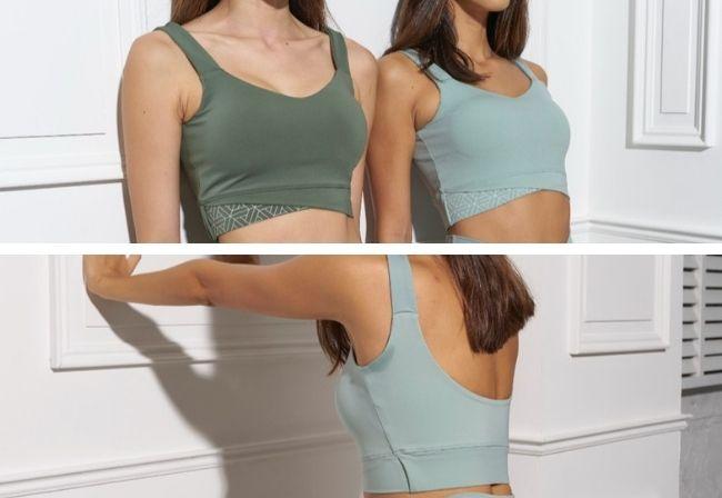 『shape up tank bra』
