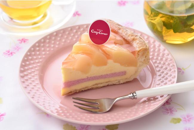 銀座コージーコーナー『白桃のパイ』