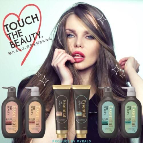 美髪に必要なのは水分量じゃない!?「Essential THE BEAUTY 髪のキメ美容シリーズ」誕生!
