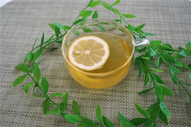 冷水ポットで作る『冷レモン緑茶』