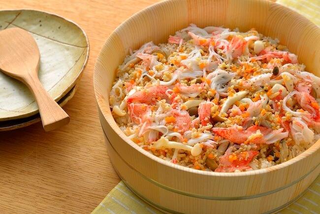お魚たっぷり簡単ちらし寿司
